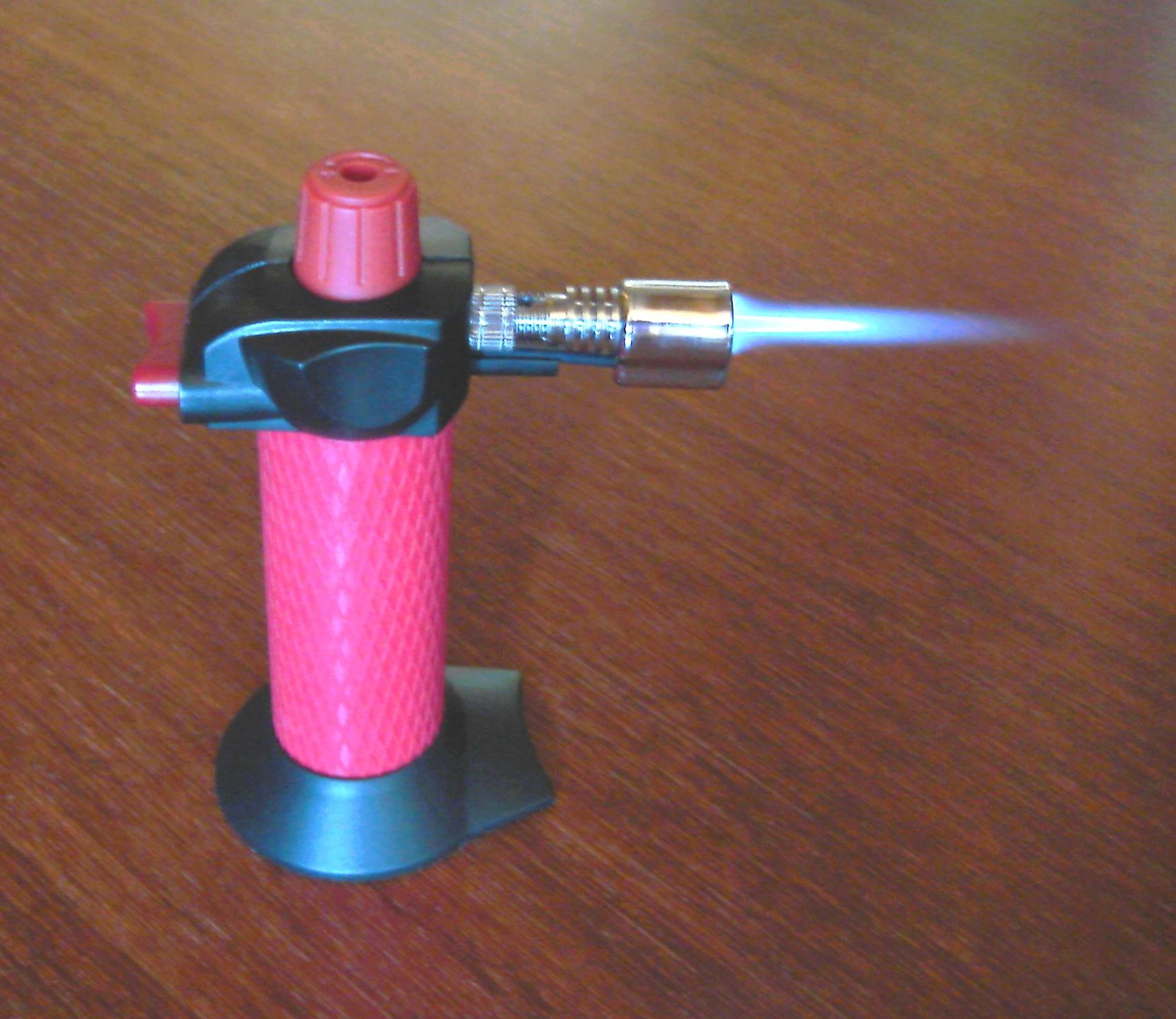 Как сделать газовую горелку из 317